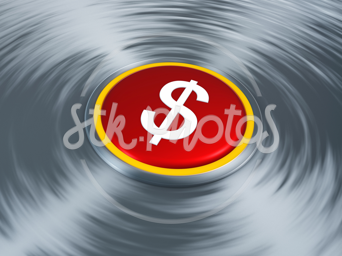 White Wall Through Symbol Success Strong Stock Sign Sales